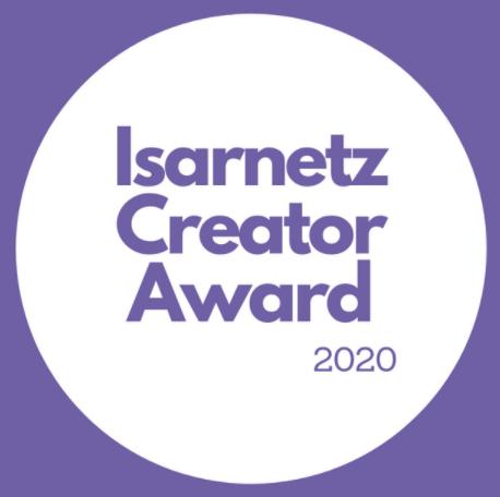Logo Isarnetz Creator Award 2020